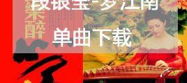 单曲5.1声道无损音乐下载 背景音乐 段银莹 国乐醉筝之梦江南/百度云