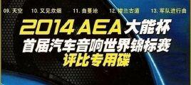 汽车音响评比专用《2014AEA大能杯专用碟》UPDTS-WAV分轨