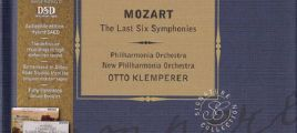 Mozart - The Late Symphonies, Klemperer 3SACD-DSD-ISO