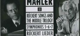Bernstein-Mahler II Ruckert Songs and The Middle Trilogy 5CD 立体声WAV整轨+CUE