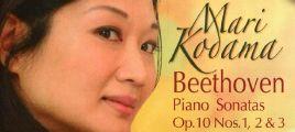 交响乐 钢琴 Mari Kodama - Beethoven Piano Sonatas Op.10 Nos. 1, 2 & 3 [SACD-DSD-ISO]